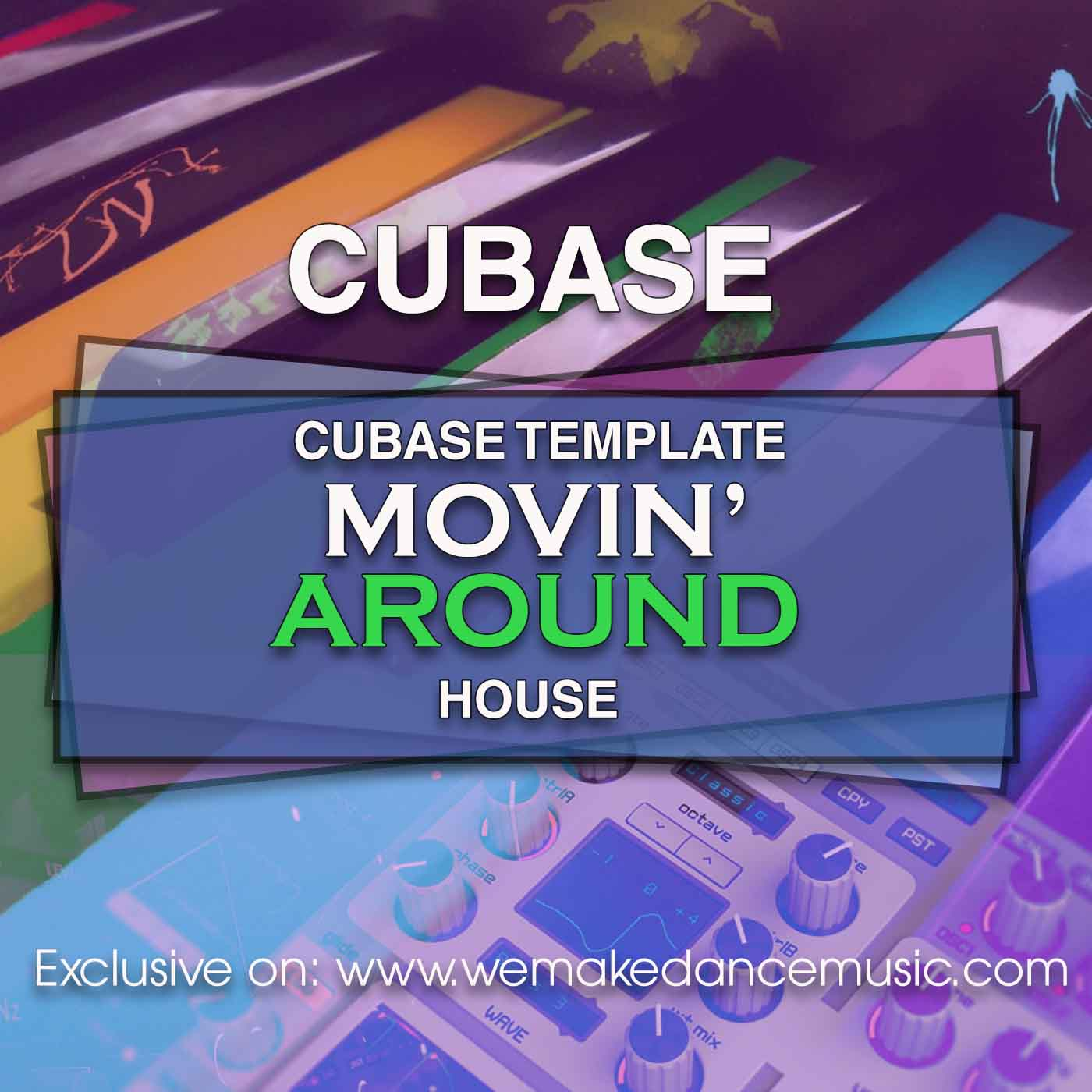 Movin' Around Cubase Template